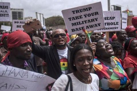 GHANA TRUMP
